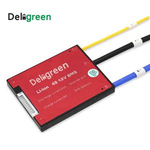 Deligreen Lifepo4 e-scooter batterij 10A 15A 25A 35A 45A 50A canbus 12v 4s bms