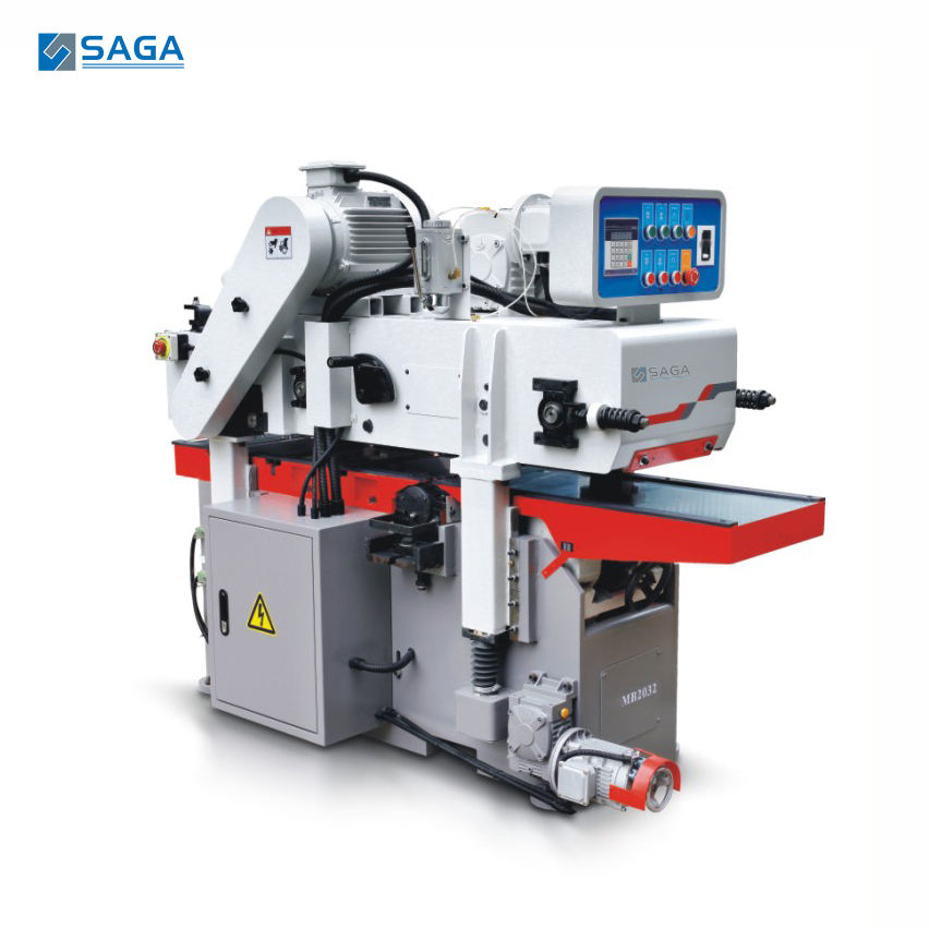 Heavy duty automatic double side moulder wood planner machine