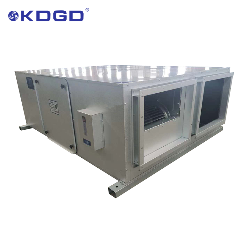 air purification ventilation system air heat exchanger recuperator recovery ventilation
