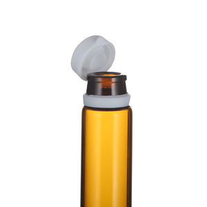 2ml 3ml 5ml Amber glass tubular vials with tearing off screw cap for sample liquild/pharmaceutical products packing