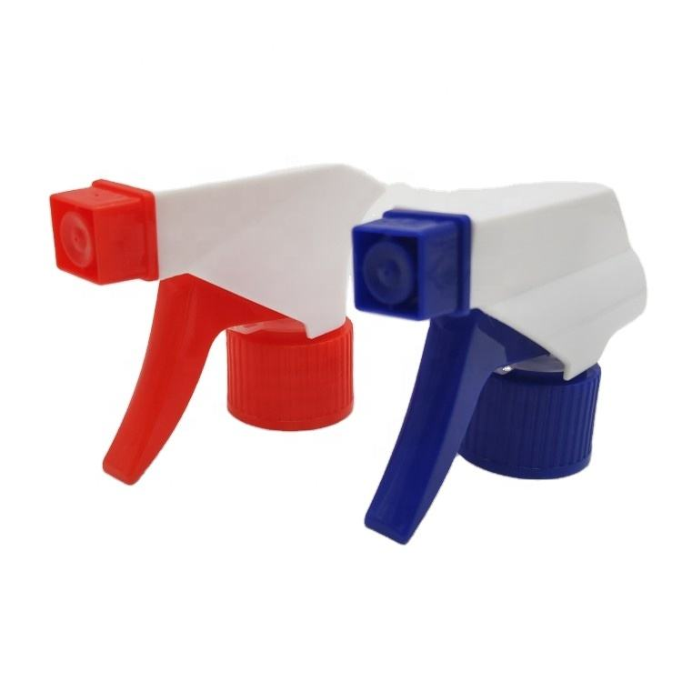plastic trigger spray 28/410 white with blue trigger sprayer for garden