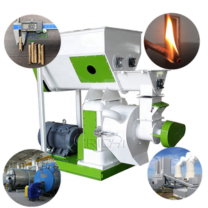 Professional Manufacturer RICHI Hops Hemp Alfalfa Sawdust Wood Biomass Pellet Making Machine