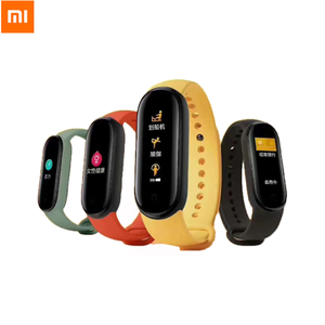 Original GLOBAL Xiaomi Mi Band 5 Wristband 4 Color Heart Rate Fitness Tracker Bluetooth Sport Bracelet AMOLED Screen Miband 5