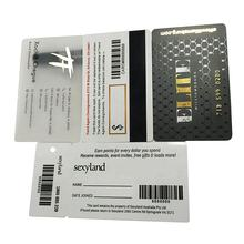 maker promotion custom cr80 30mil thick vip loyalty plastic white pvc id membership gift printing business card