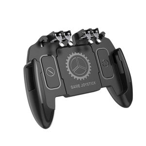 M11 For PUBG Mobile Joystick Controller L1R1 Trigger Gamepad for iOS Android Six 6 Finger Mobile Gamepad Cooling Fan