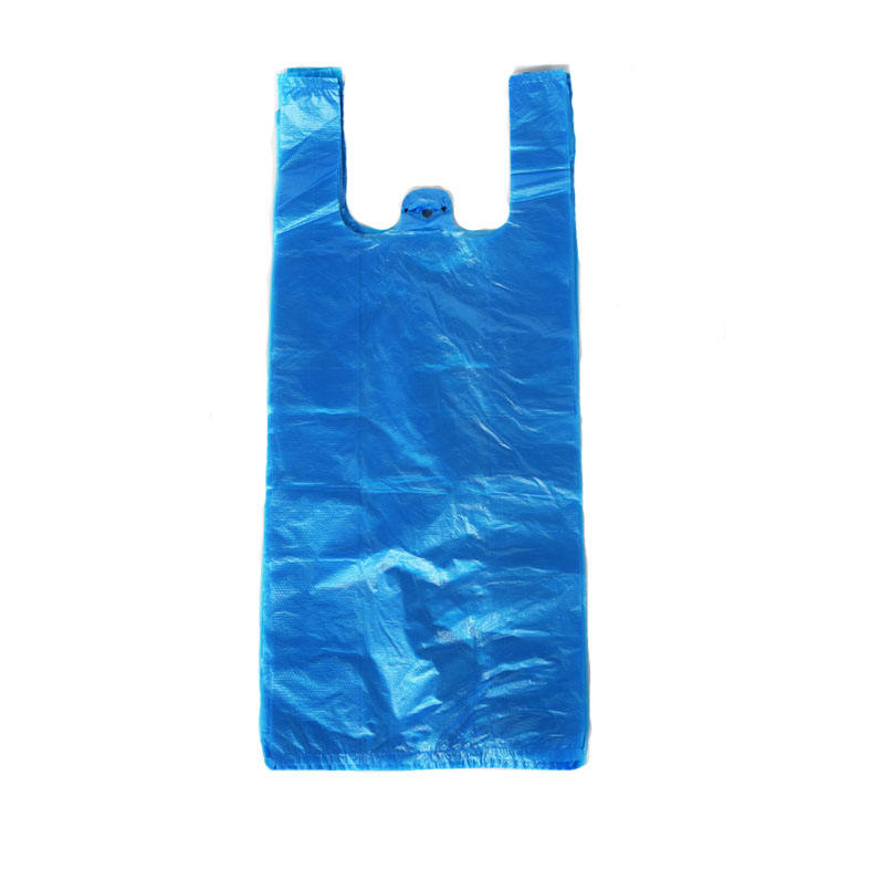 HDPE Polyethylene Plastic ECO Friendly Singlet Shopping Bag with OEM customers