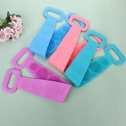 China factory wholesale decontamination rubbing mud bath towel strip fine quality rubbing strip 70*11cm