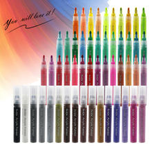 Newest Multi-color Write Smoothly Permanent Acrylic Marker Paint Pens