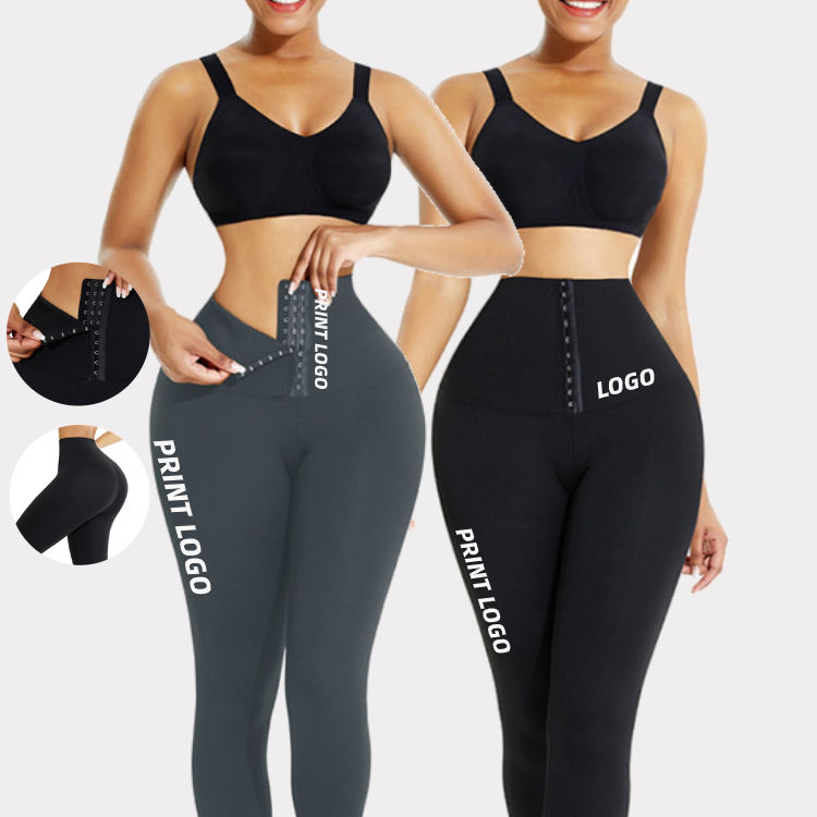 Ademend Haken Taille Trainer Corset Hoge Taille Yoga Broek Gym <span class=keywords><strong>Leggings</strong></span> Vrouwen Fitness Kleding