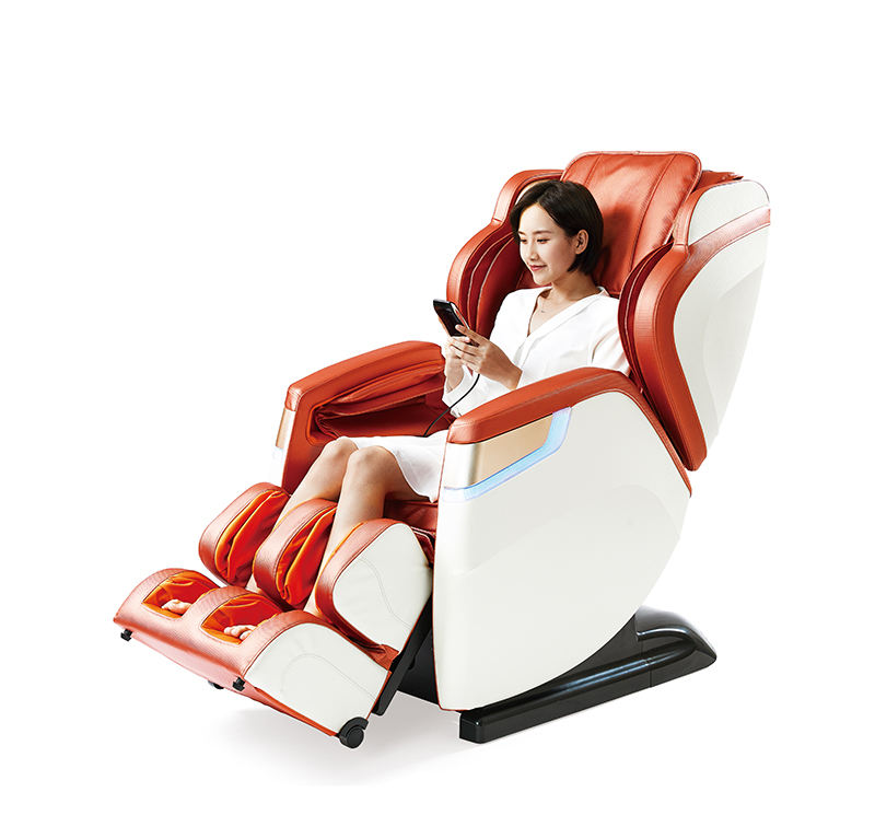 China Luxe Intelligente Massage Stoel Sl Track Full Body Zero Gravity 4D Massage Stoel Te Koop