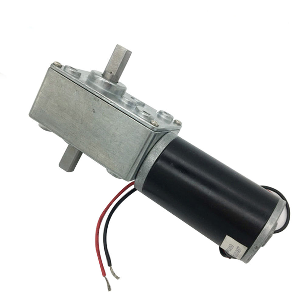 A58SW31ZYS 12-24V worm gear motor 7-470 rpm Reversed Dc Motor electric Dc Motor Double Shaft For Diy Experiment Brin