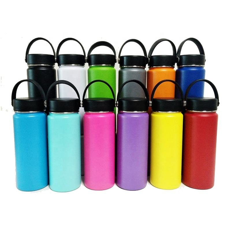 High Quality Keep Hot/ Cold Stainless Steel Water Bottle Hydro Thermos Vacuum Flask with Custom Logo