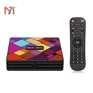 2019 Nieuwe Collectie Producten HK1 Cool Rockchip RK3318 Quad Core 4 GB/32 GB Dual Band Wifi 4k ultra Hd HK1 COOL Android 9.0 Tv Box