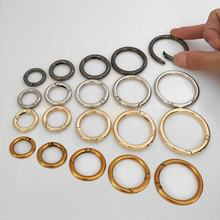 Metal Spring Carabiner Ring 25mm