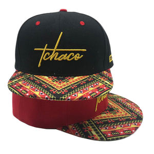 Sublimation Printing Brim Snapback Caps/Hats Cheap Price Custom Your 3D Embroidery Logo High Quality Custom Snapback Hats/Caps