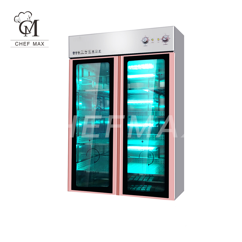 Commercial Customized Vertical Single/Double Door Multifunction Ozone Towel Sterilizer UV Disinfection Cabinet
