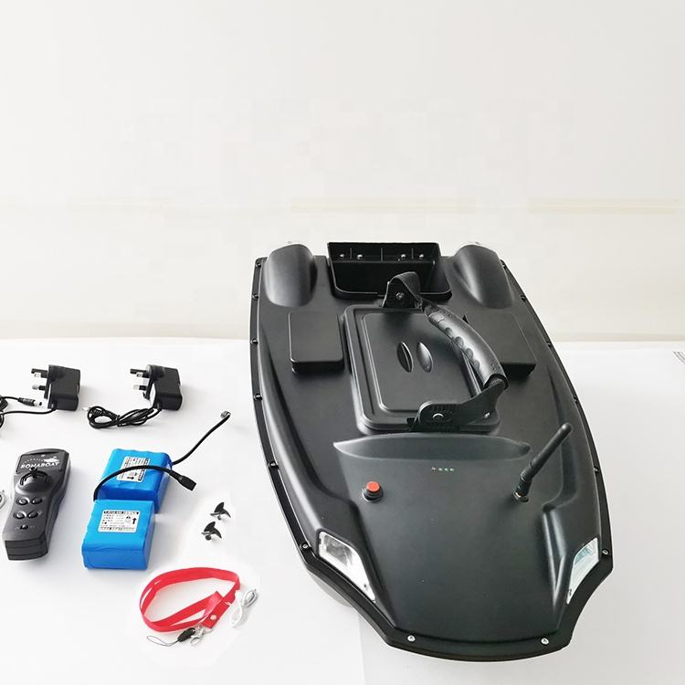 Fish Finder Boat Black Remote Control OEM / ODM Carp Fishing Bait Boats with GPS