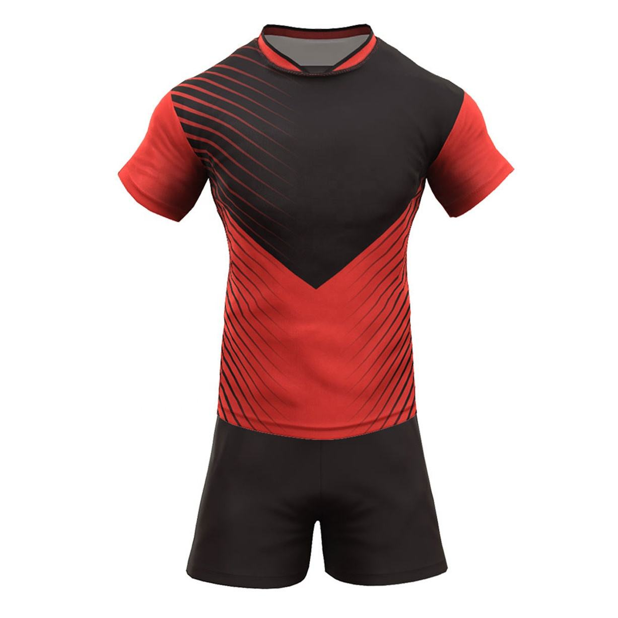 Top Selling Adult Size Rugby Uniform Made In 100 % Polyester Rugby Uniform