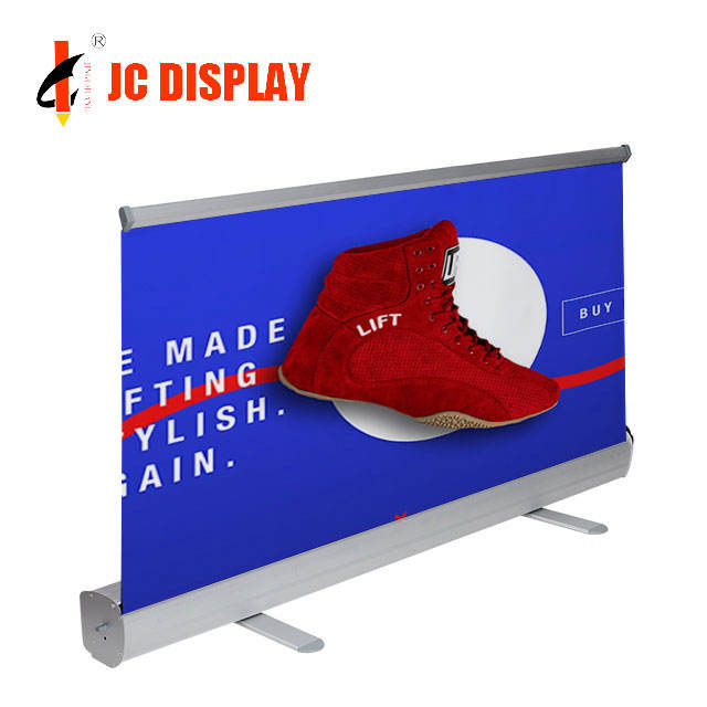 Frame Down Stand Size Cm 80X200 Teardrop Roll Up Banner