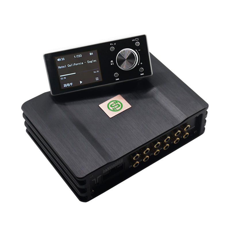 DP-X10 Factory Supply 4 Channels Full Ranger Power amplfier audio car dsp processor with 8 Channels Digital Signal Processor