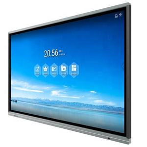 Fvasee Pabrik 50 Inci Layar Sentuh Interaktif Panel Dalam 30 W High Power Amplifier Speaker 50 Inch Interaktif Touch Panel