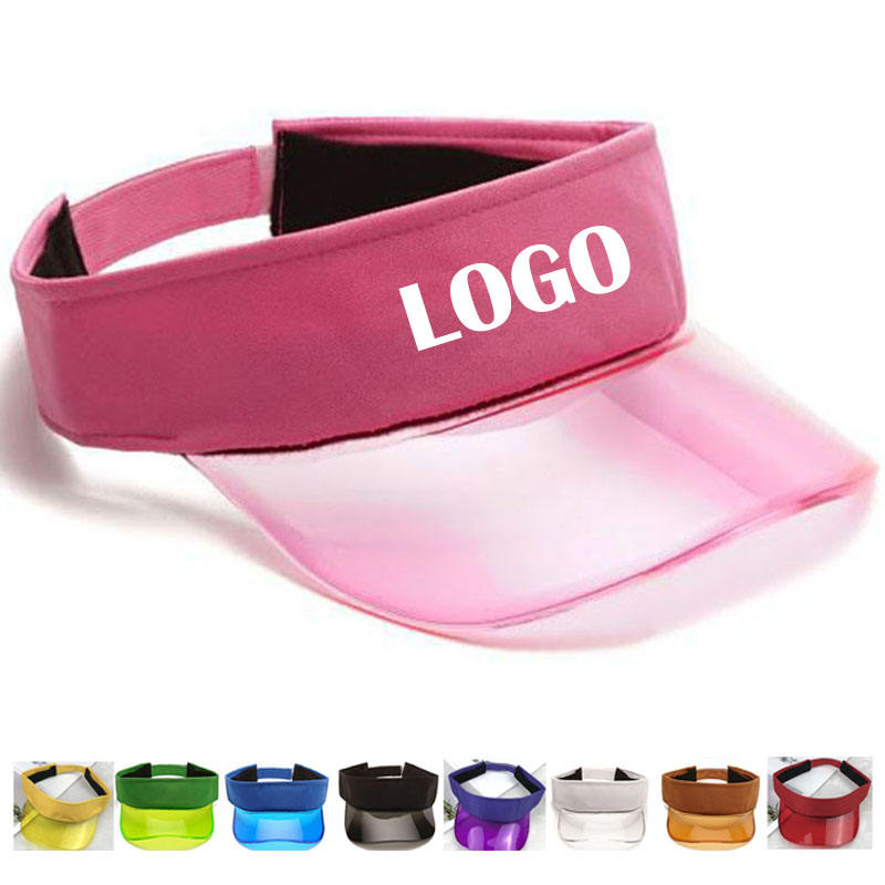 Wholesale Outdoor Sport Women Fashion Summer PVC Sun Visor Caps Baseball Caps for Golf Running Tennis Trucker Hats