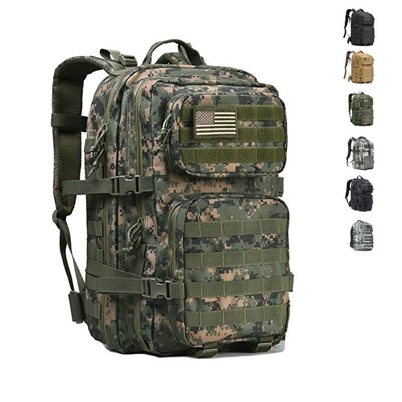 Low price large volume military waterproof hiking backpack