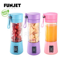 Home Appliance 380W Magnetic Usb Mini 4 In 1 Blender