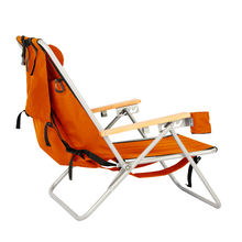 portable steel folding backpack beach chair