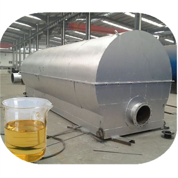 Crude oil recycling to diesel distillation equipment