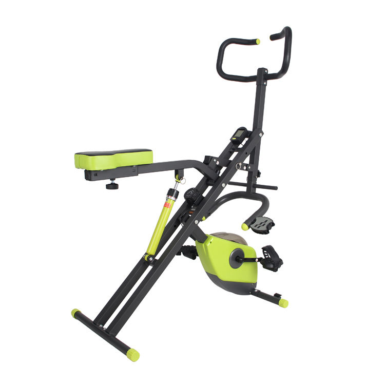 Total Body Fit Crunch Workout Exercise Machine