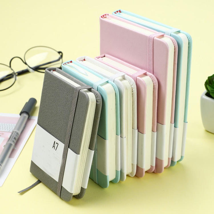 Small Notebook thickened Creative Cartoon lovely Student Portable Mini Portable A7 notepad