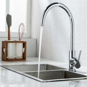 High Quality Best Selling Kitchen Sink Mixer Tap Single Handle Brass Body Faucet