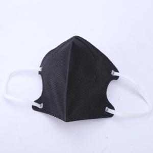 Qikoup 3 piezas mariposa impresa negro lavable reutilizable boca transpirable