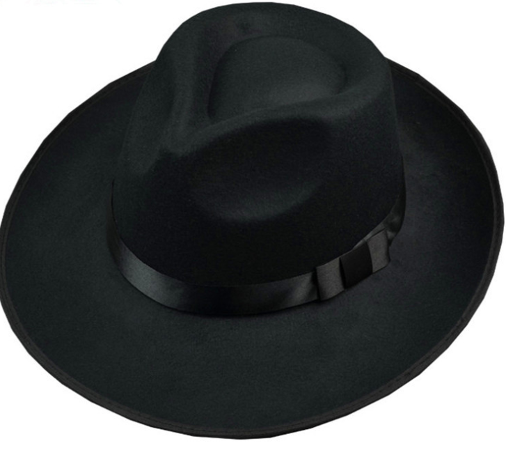 classical michael jackson mens fedora hat 100 polyester