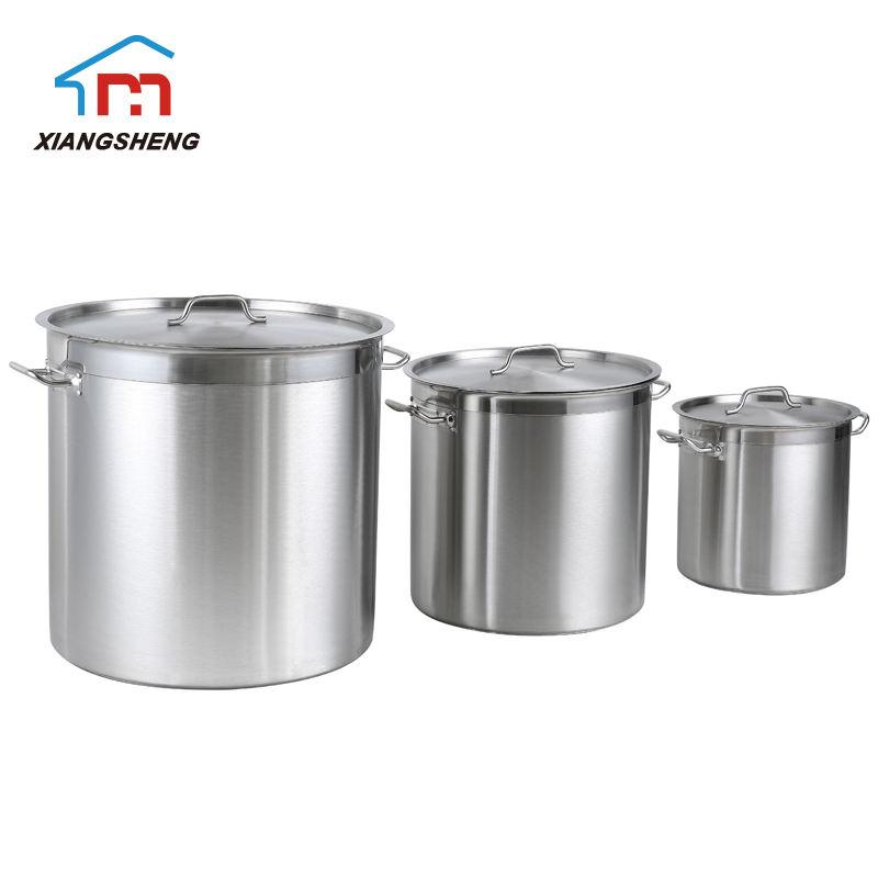 Haute Qualité en acier inoxydable Casserole Tamale Vapeur Marmite Lait Casserole