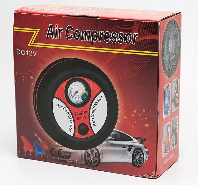 Portable Electric Mini Tire InflatorミニCompressor 12V Auto Air Compressor Pump Car Tyre Tire Inflator