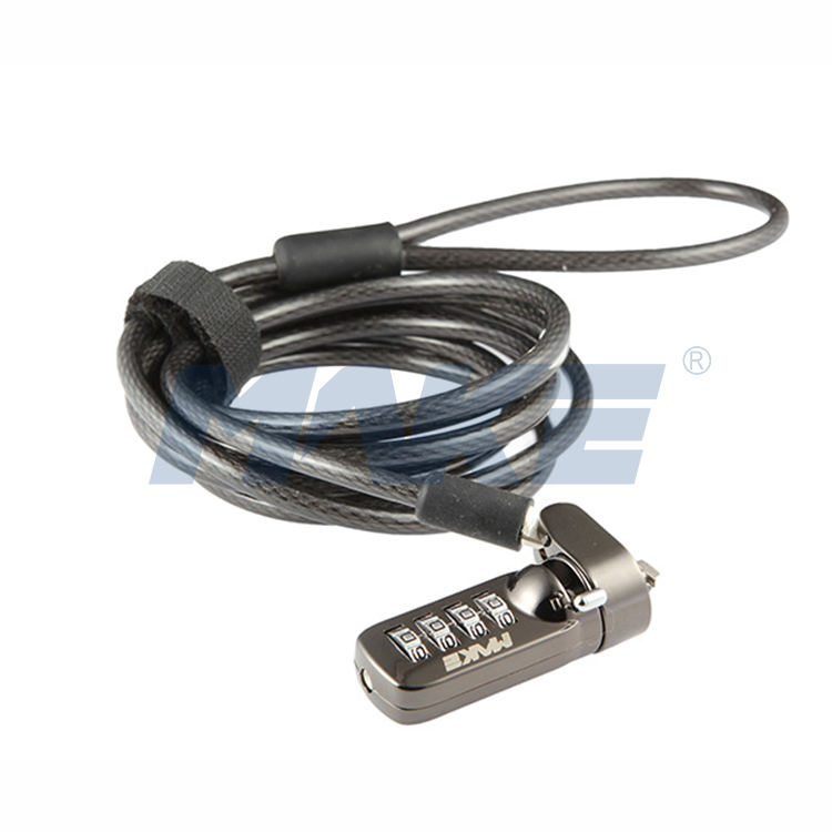mk815-5 Combination Key Laptop Password Wire Computer Cable Lock