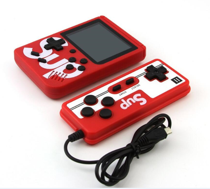 SUP 400 IN 1 Retro Video Game Console Portable Pocket Game Box Mini Handheld Player for Kids Gift