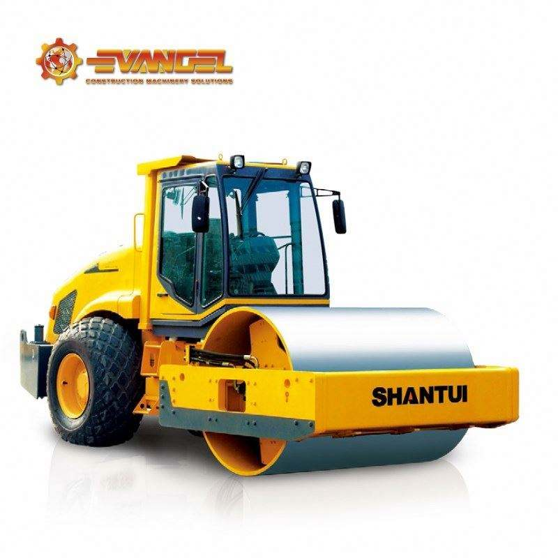 China Shantui Road Construction Machinery 20 Ton Mechanical Single-Drum Vibratory Road Roller Compactor Sr20Ma Sr20M Sr20Mp