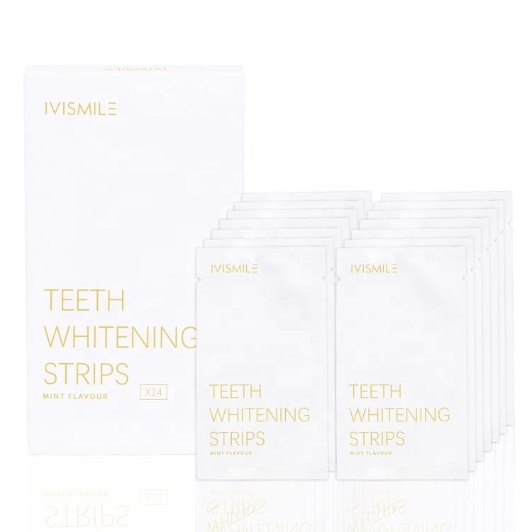 2020 Ivismile Dry Teeth Whitening Strips Charcoal