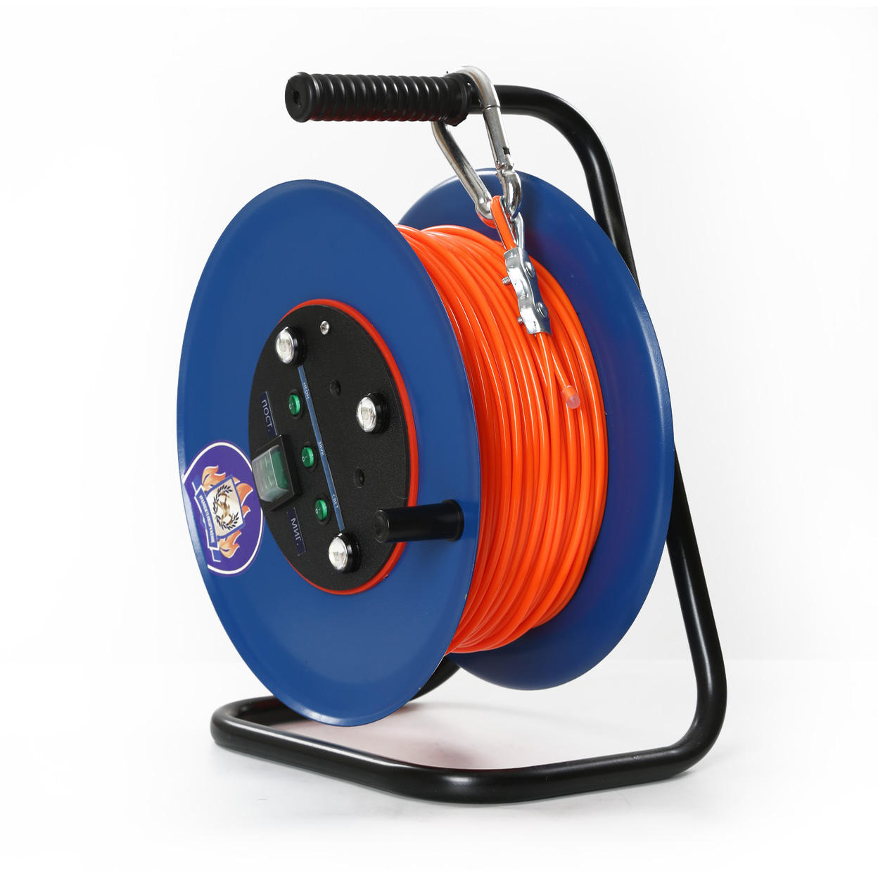 Evacuation glowind wire with sound signals for rescue operations