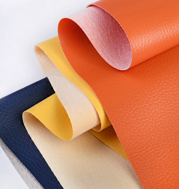 Full Grain High Quality PVC Leather Leatherette Rolls
