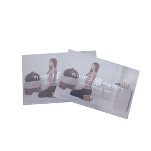 Cheap customized design products small insert brochure flyer printing