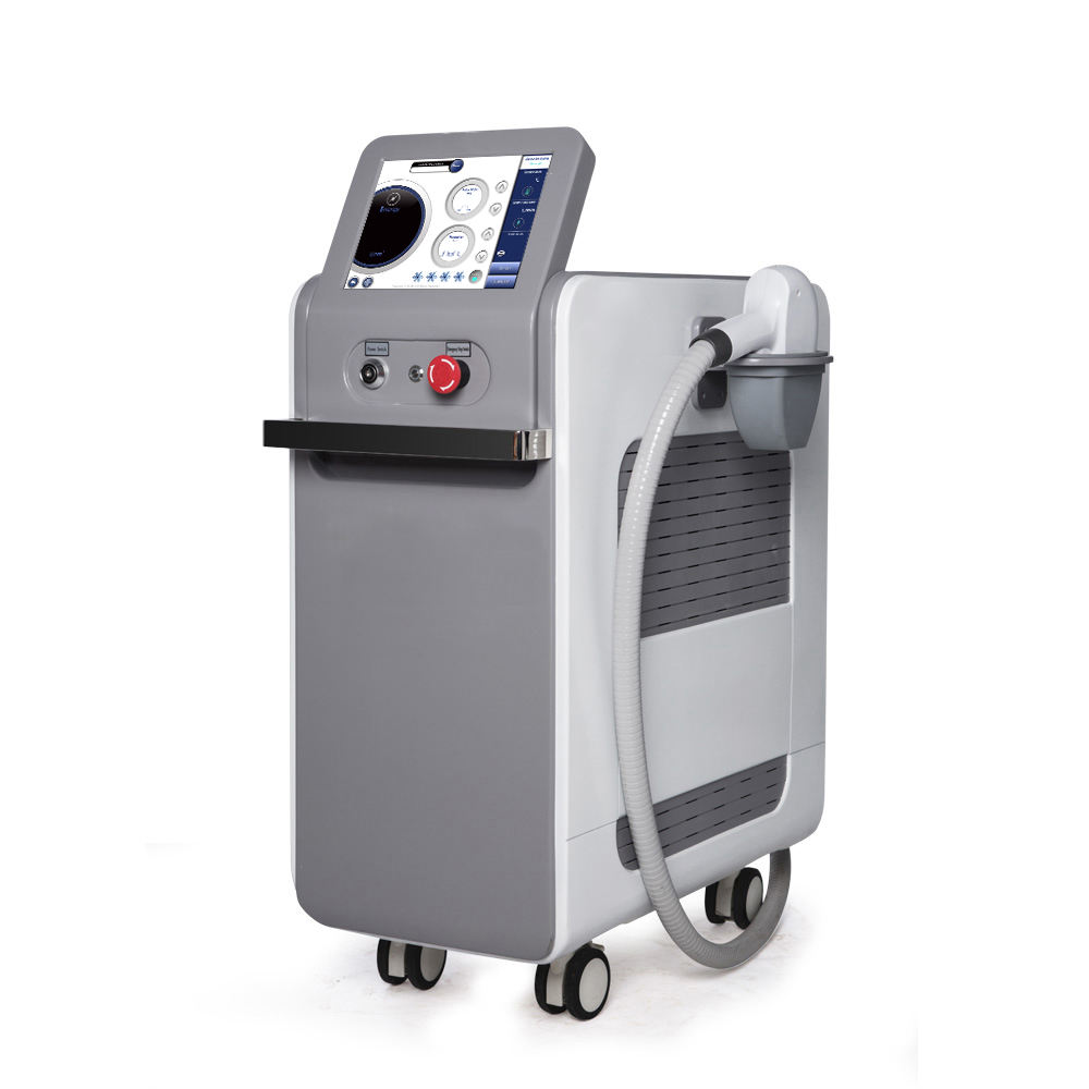 Salon Three Wavelength Future Oriental Opt And Nd:Yag Laser Hair Removal Machine