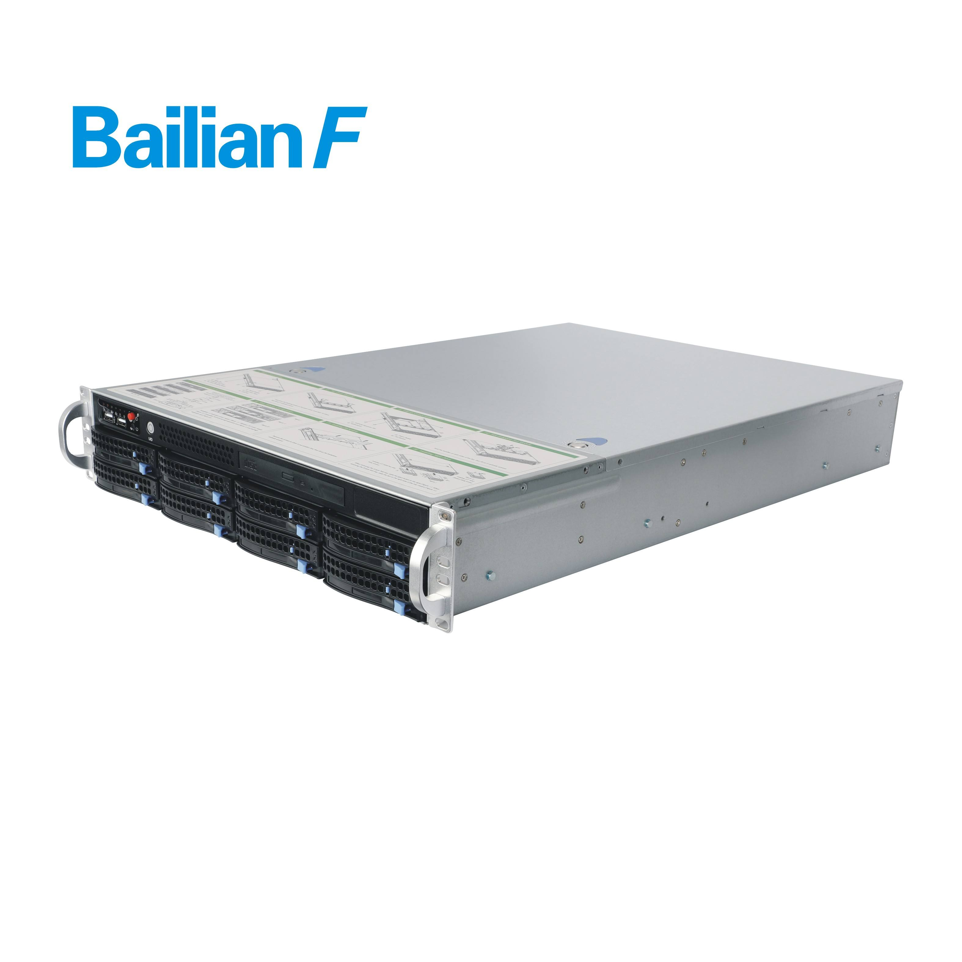8 Bay Xeon E5 2670 Computing rack Server for Virtualization, private cloud, diskless teaching system