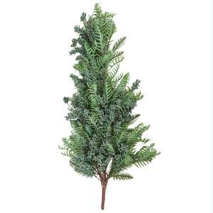 New Design Artificial Foliage Branches Plants Christmas Decorative Pine Branch