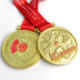 German Bronze Star Medals Charity Event Running / Swimming Sport Medal Design With Ribbon