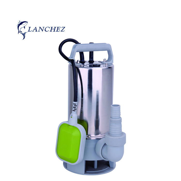 550/750/900/1100W Stainless Steel Submersible Dirty Water Pump