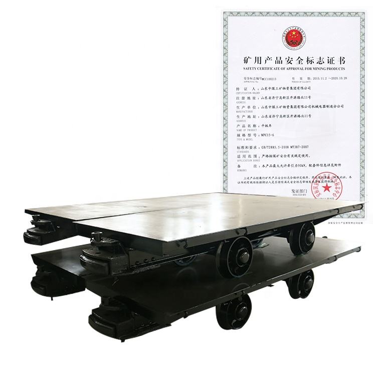 Factory Price Sale Flat Rail Wagon For Coal Mine Railway